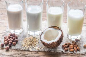 Veganer Milchersatz