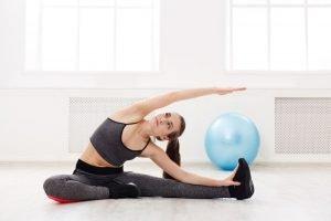 Pilates Übungen Nacken Schultern