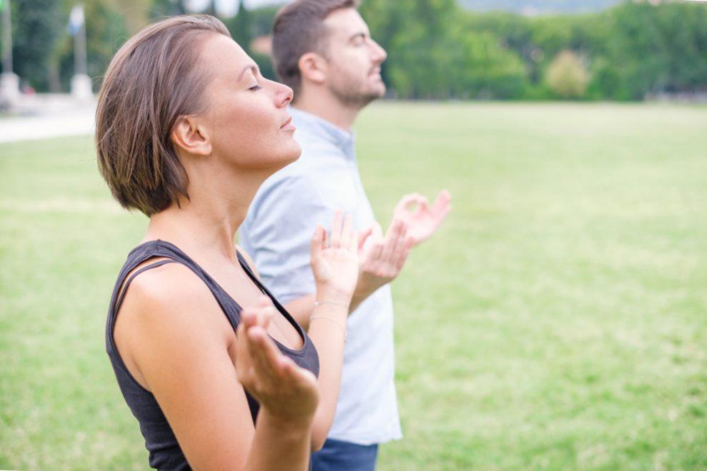 Atemübungen zur Entspannung