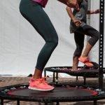 Trampolin Übungen zum Abnehmen
