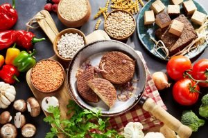 Veganer Fleischersatz