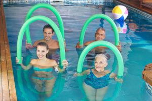 Aquafitness abnehmen
