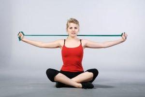 Theraband-Übungen für den Rücken