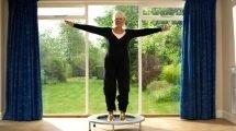 Trampolin Übungen für den Bauch