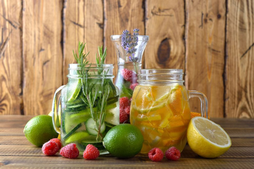 Infused Water - der Diät-Trend 2018