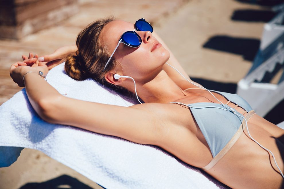 Sonnenbaden - UV-Schutz