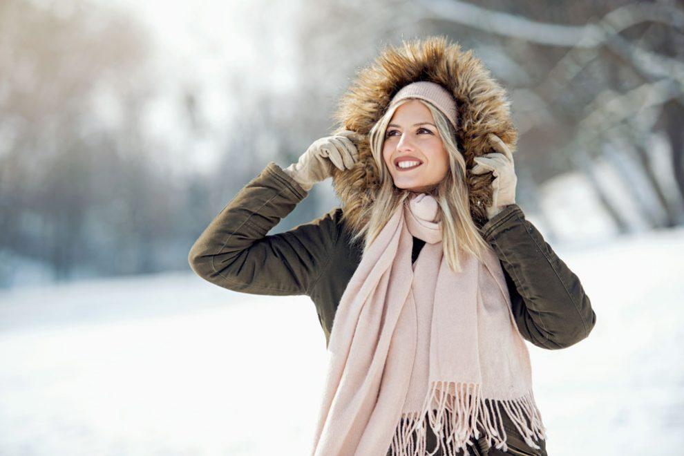 Gesichtspflege Winter
