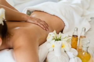 Massage zu Hause